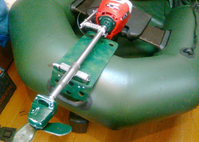 Мотор на базе бензокосилки