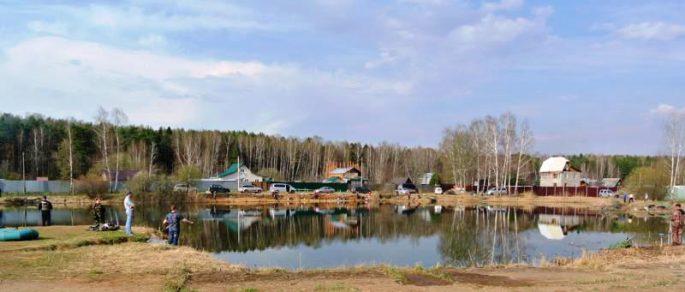 Рыбалка в Пирогово