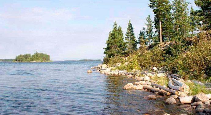 Выбор озера для рыбалки