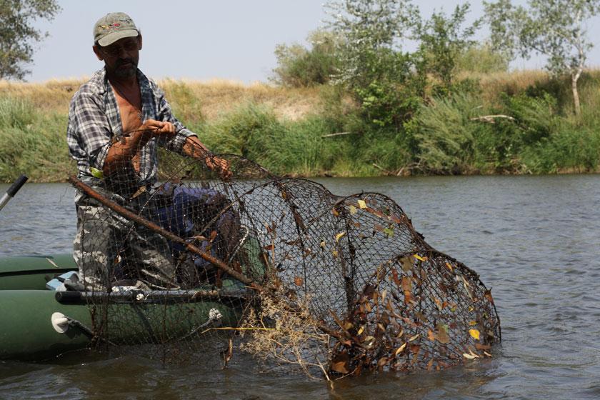кроссворд снасть рыбака или охотника