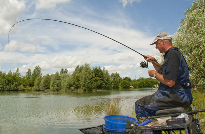 рыбалка на пруду способы