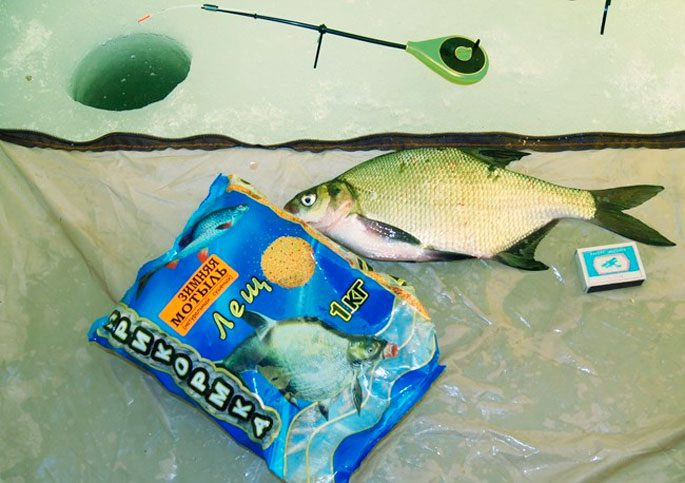 рыбачим с прикормкой