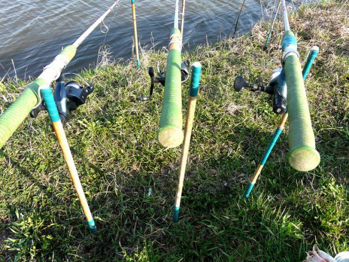Подставки рыболовные своими руками 81