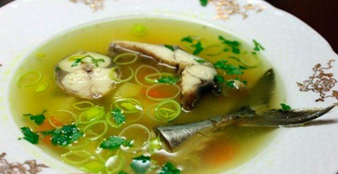 Калорийность рыбного супа из скумбрии