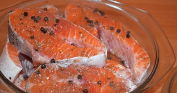 Засолить рыбу форель домашних условиях