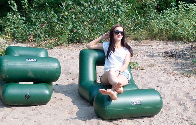 Надувные кресла для лодок ПВХ
