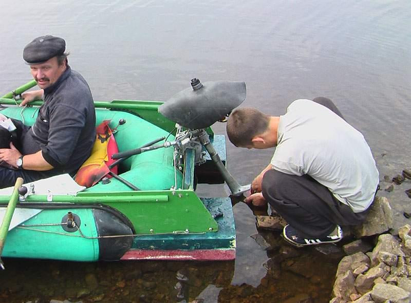 подгонка мотора под лодку
