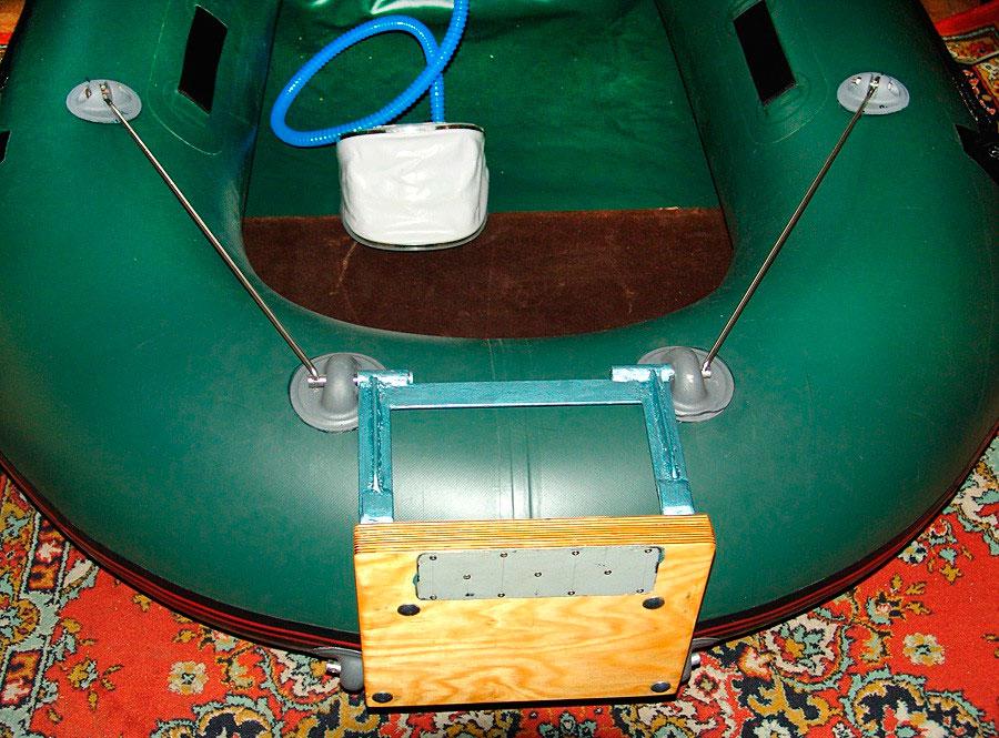 резиновые лодки видео самоделок