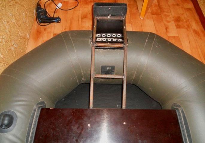 Как сделать транец на лодку пвх своими руками под мотор