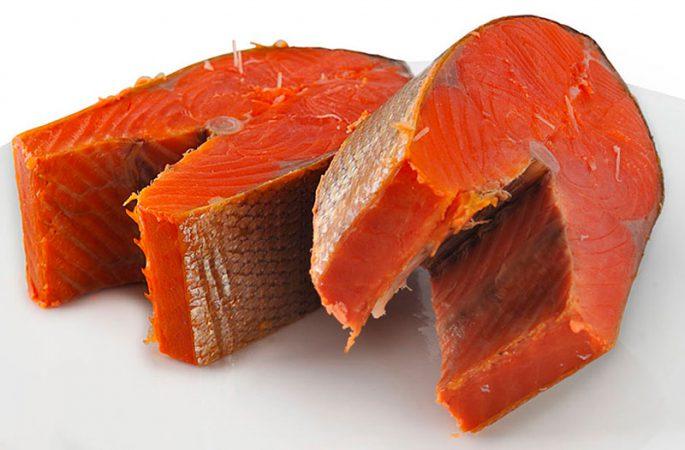 Полезный состав мяса кижуча и нерки