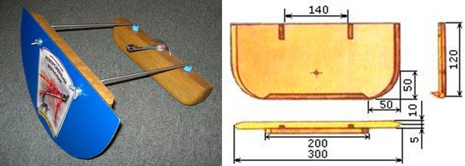 Реверс кораблика для рыбалки своими руками чертежи