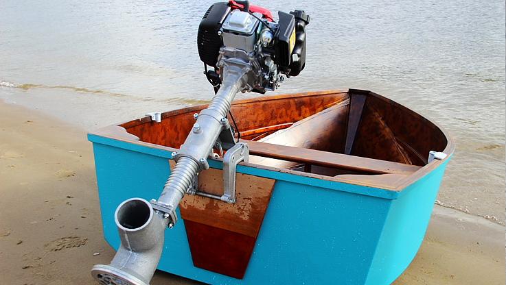 водомет электрический для лодки