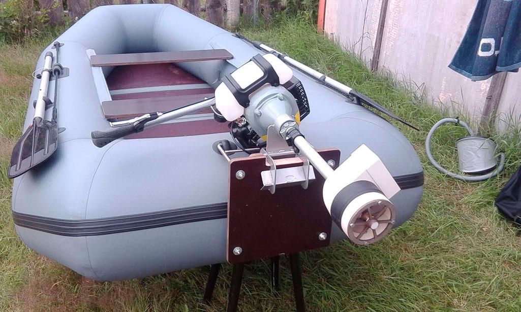 Двигатель для лодки своими руками