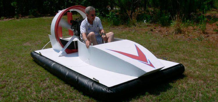 из чего сделать воздушную подушку для лодки своими руками