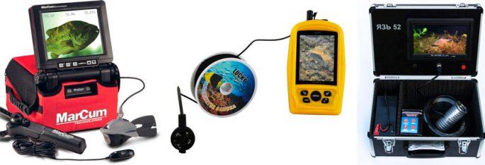 Обзор камер для подледной рыбалки