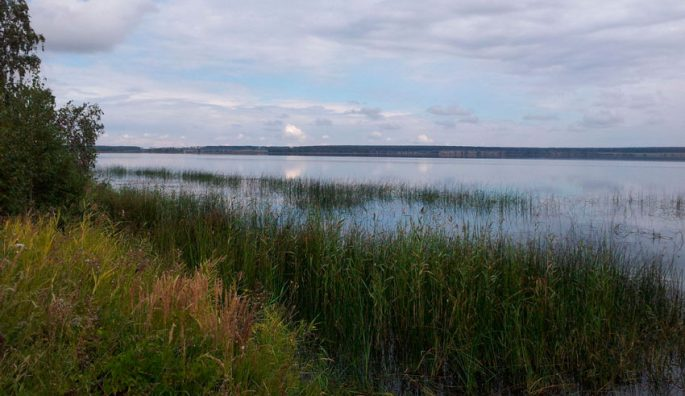 Озеро Алабуга