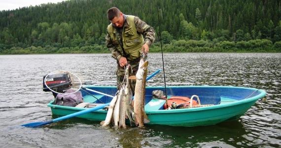 Рыбалка на реке Вятка