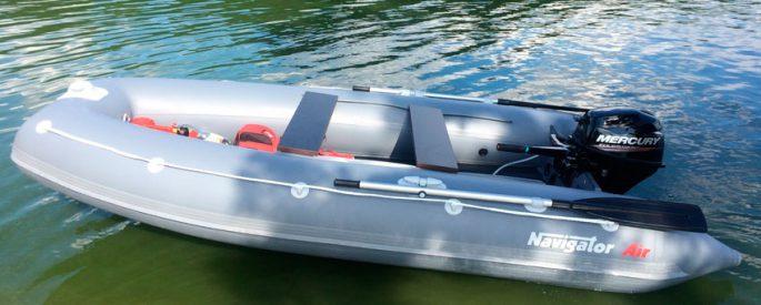 Конструкция надувной лодки