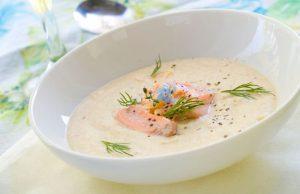 Рыбный суп из форели со сливками рецепт