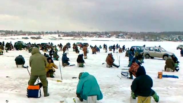 рыбалка на обве весной видео