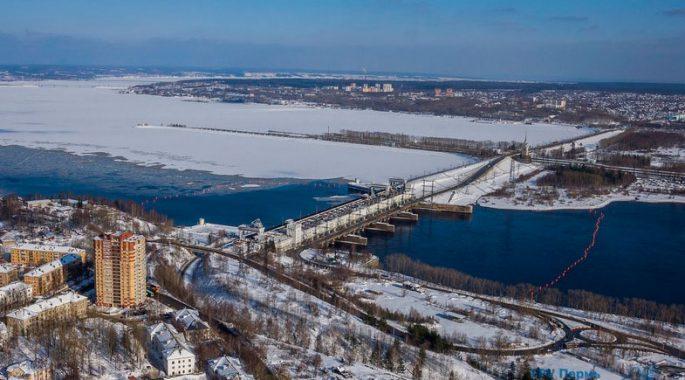 Камскую ГЭС