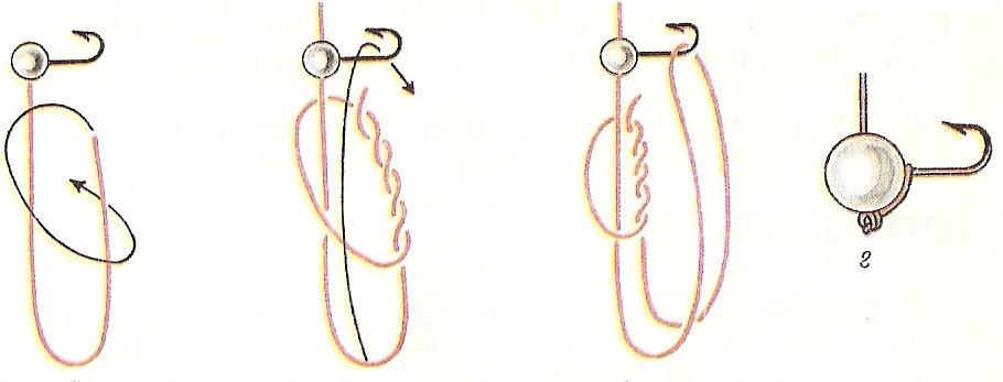 Как привязать мормышку правильно Узлы для мормышек