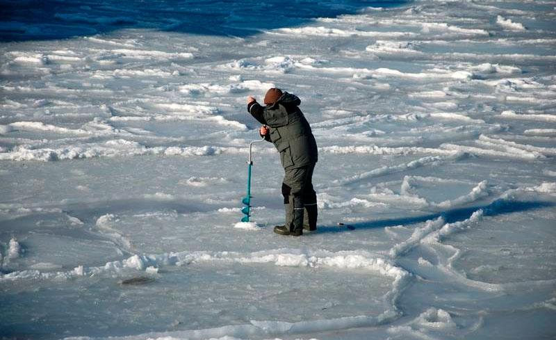 Где порыбачить зимой в примосрком крае