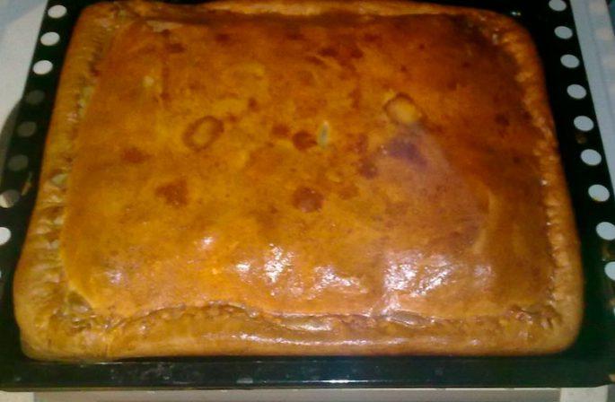 Пирог с рипусом