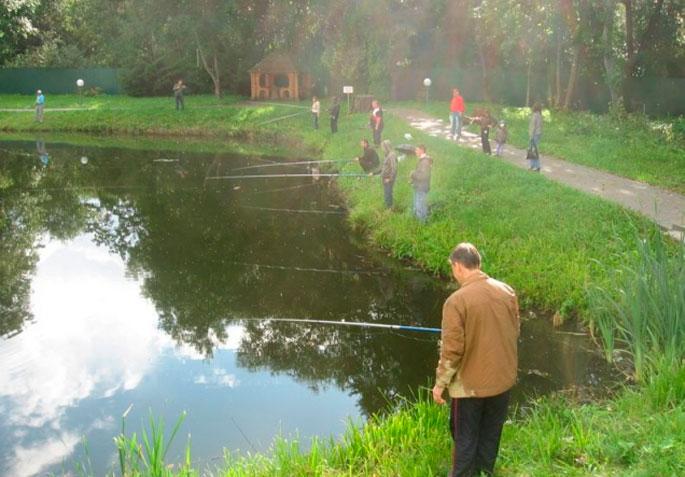 платная рыбалка в районе варшавки