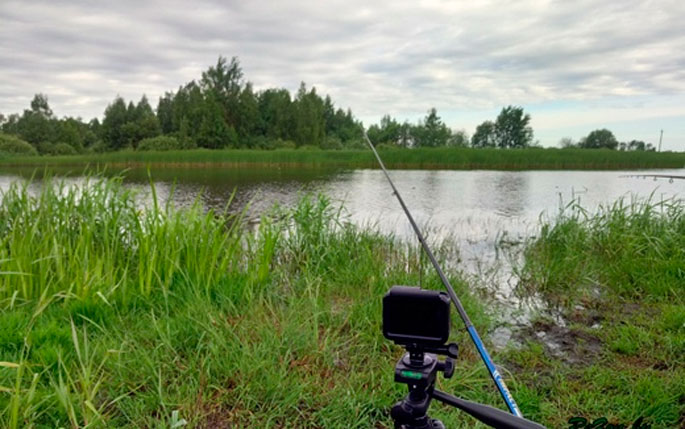 холодный пруд рыбалка
