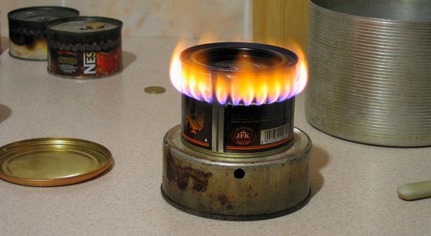 Бензиновая горелка своими руками из банки