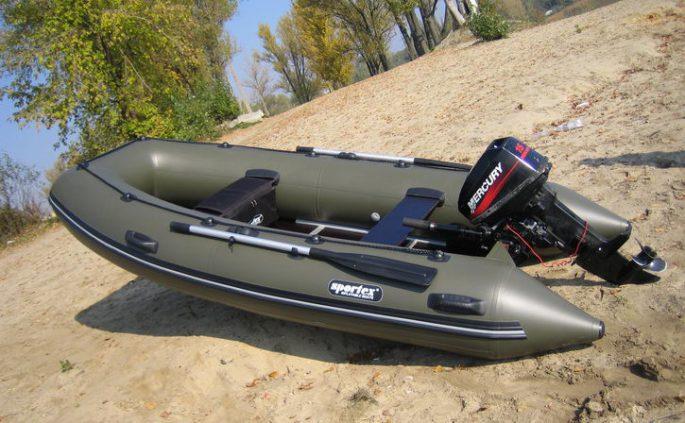 резиновые лодки с надувным дном в спб