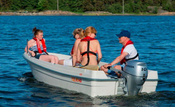 Термопластиковые лодки TERHI (Терхи)