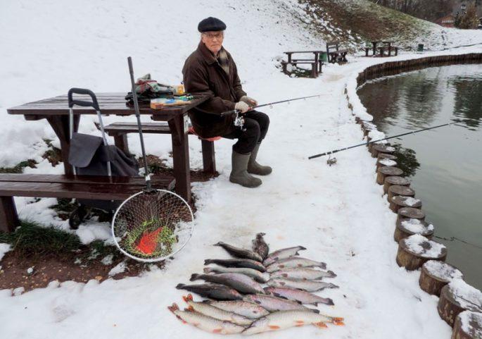 Какая рыба ловится зимой