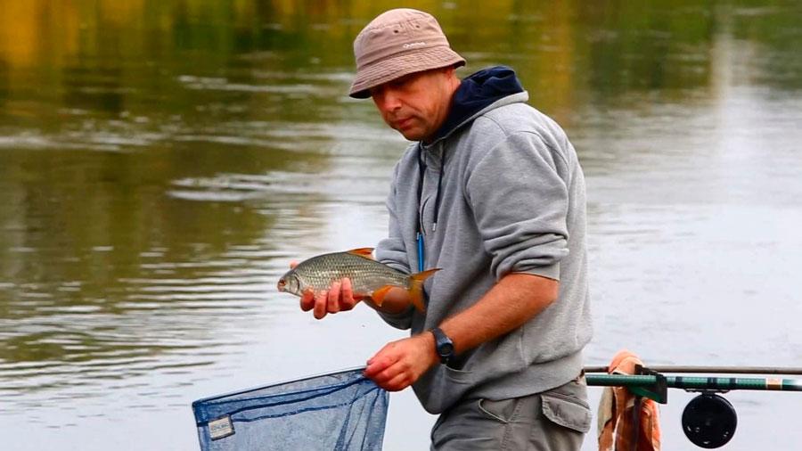 Рыбалка на болонскую удочку