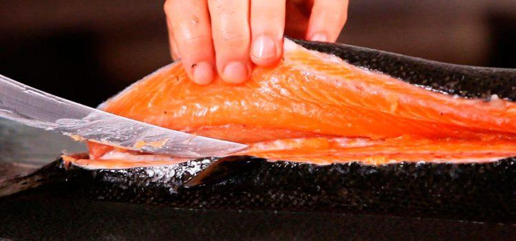 Как правильно разделать лосося
