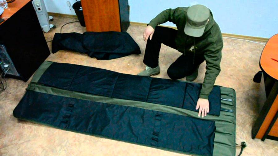 Чехлы для спиннингов с катушками своими руками 85
