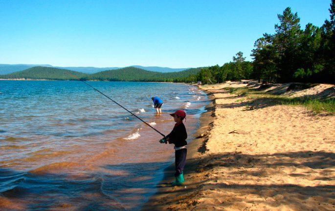 Лучшие места для рыбаки на Байкале
