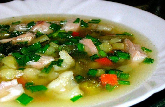 Рыбный суп из карпа