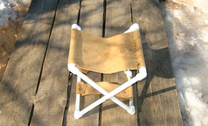 Конструкции самодельных рыбацких стульев