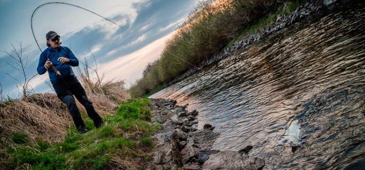 Ловля жереха на малых реках
